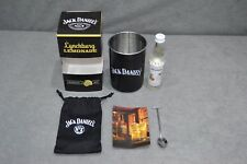 Brand New Jack Daniel's Lynchburg Lemonade Cocktail Set Kit Spoon Tin Cup Pouch