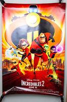 "Disney Pixar: Incredibles 2 - 2018 Movie Theatre Poster, 27x40"""