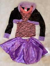 Monster High 3 pc. Clawdeen Wolf Halloween Costume ▪Size Large