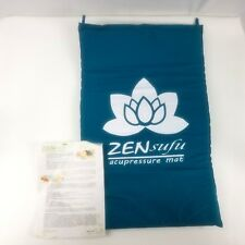 Zen Sufu Acupressure Mat Bed of Nails Massage Pain Relieve Padded Pressure Point