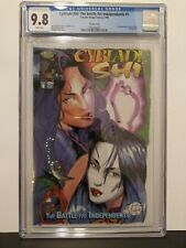 CGC 9.8 Cyblade/Shi: The Battle for Independents #1 1995, 1st app Witchblade