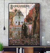 More details for black sabbath self titled album cover poster professional grade print