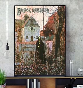 Black Sabbath Self Titled Album Cover Poster Professional Grade Print