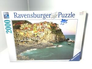 2000pc Ravensburger Jigsaw Puzzle Cinque Terre Italy Brand New Sealed