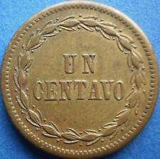 DOMINICAN REPUBLIC 1 CENTAVO 1877 Dominicana Dominikanische Dominicaine Dom Rep