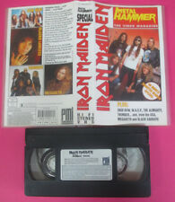 VHS IRON MAIDEN METAL HAMMER The video magazine SKID ROW (VM4) no mc dvd lp