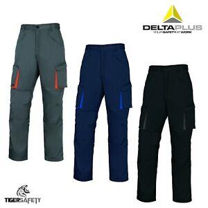 Delta Plus Panoply M2PAN Mach2 Mens Cargo Combat Kneepad Work Trousers Pants