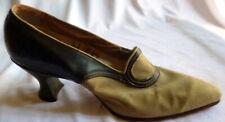 Original Antique 1910s Leather Heals Shoes Size 4