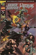 SILVER Surfer & Witchblade #1/2 Devil's reign SILVER-LOGO-Variant Wizard/Marvel