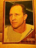 1962 Topps Roy Sievers Philadelphia Phillies #220 Baseball Card VG