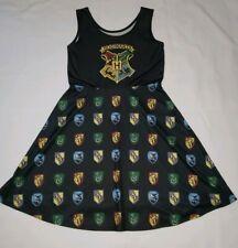 Harry Potter Hogwarts House Sun Dress Gryffindor Slytherin Ravenclaw Hufflepuff