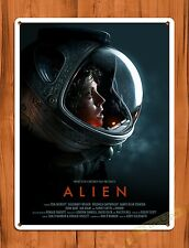 TIN SIGN Alien Sigourney Weaver Vintage Movie Art Poster