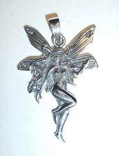 Anhänger Kette FEE Elfe Nymphe ECHT Silber 925 Fabelwesen Lichtwesen Engel SS19