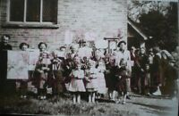 "PRINT 10"" X 7""  BAUGHURST SUNDAY SCHOOL GROUP c1950 HAMPSHIRE"