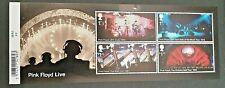 2016 Music Giants - Pink Floyd Minisheet -  with BARCODE