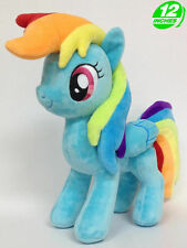 "Rainbow Dash MLP My Little Pony 12"" 30cm Cartoon Figure Soft Plush Toy Doll"