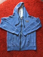 Like New !Vans Zip Hoodie With Pocket Light Blue Size M(gift Wrap Available)
