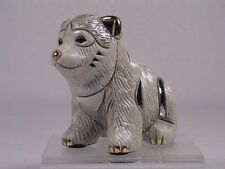 DeRosa Rinconada Silver Rincababy Gray 'Timber Wolf Baby' Figurine  #1742 - NIB