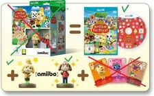 Animal Crossing: amiibo Festival Set (Nintendo Wii U, 2015, DVD-Box)