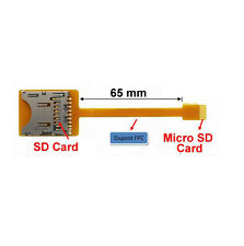 SD to Micro SD FPC Extender with 65mm Flex Cable