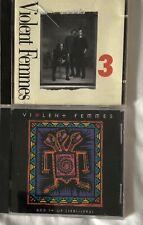 VIOLENT FEMMES 2 CD Lot - 3 & Add It Up
