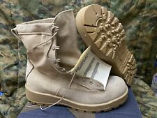 US. Military Wellco Army Combat Boots Desert Size 11 W,waterproof.New