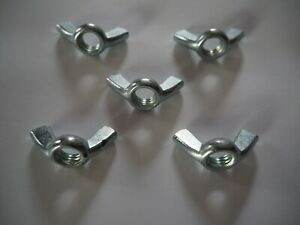 m10 wing nuts galvanized