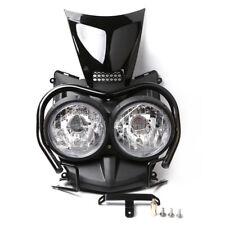 Dual Head Upper Top Cover Guard Set  For YAMAHA Zuma BWS 125 YW125 2009-2015
