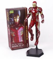 IRON MAN/ FIGURA MARK XLVI 38 CM- ACTION FIGURE CRAZY TOYS IN BOX