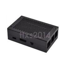 New Black Aluminum Alloy Protective Case Enclosure Box For Raspberry Pi 3