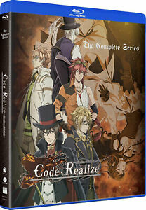 Code: Realize Guardian of Rebirth Anime Blu-Ray+DVD+FUNimation Digital Copy