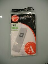 New In Packge Hoover Set Of 3 Vacuum Bags Type Model A 4010100A Part # 43655092