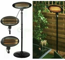 Electric Free Standing Oval Patio Heater ⚡2000kw⚡ 🚚 FREE NEXT DAY DELIVERY ✅