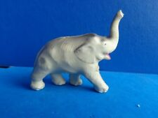 VINTAGE CELLULOID COVERED CHALK ELEPHANT TOY