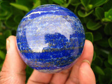 NATURAL Lapis Lazuli crystal ball healing SPHERE 40MM + STAND