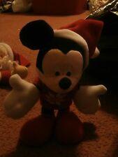 Disney Mickey Mouse Christmas Bendable Legs Plush