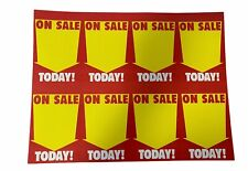 Merrill 11x7 Store Sale Price Display Case Amp Shelf Sign Tags 1000pk