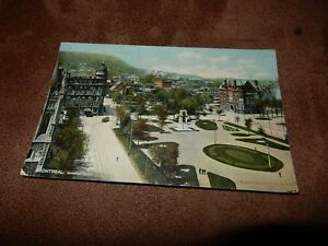 Early Canadian postcard - Dominion Square - Montreal - Quebec
