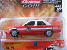 CARRERA GO 61141 FORD CROWN FIRE Jefe LUZ AZUL EE.UU.