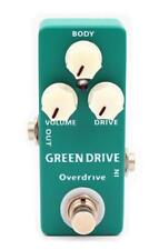 MOSKY Pedal GREEN DRIVE Pedal Guitar Effect Pedal overdrive And True Bypass