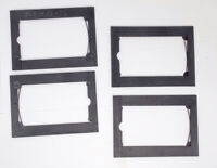 5x7 Plate Holder Adapter to 3.25x5.5 Postcard Lot of Four  FREE SHIPPING!