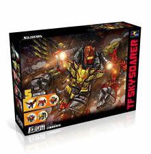 G1 Transformation predaking - 5IN1 Set Divebomb Rampage Headstrong Oversize War