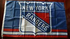 New York Rangers 3x5 Flag. US seller. Free shipping within the US!!!