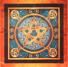 Wicca magic tablecloth Water Star - The Magic Power of Water Medium  size CA
