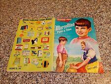 ALBUM MARCELLINO PANE E VINO LAMPO 1966 COMPLETO(-13)BUONO EDIZ.RARA FIG MARRONI