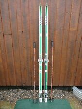 """Ready to Use Cross Country 78"""" Long  200 cm Skis +  Poles"""