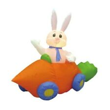 Easter Inflatable Bunny Rabbit Carrot Car Lawn Spring Indoor Outdoor Decoration