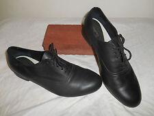 JAZZ Dance Shoes BLACK Leather FORMAL DANCE Ballroom USA SHOES Sz 10