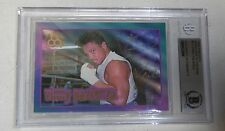 Vinny Paz Pazienza Signed 1996 Ringside Boxing Card 11 Bas Beckett Coa Autograph