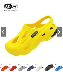 ADDA Play Big Head Rubber Shoes Unisex Mens Comfy Breathable slip on Casual.